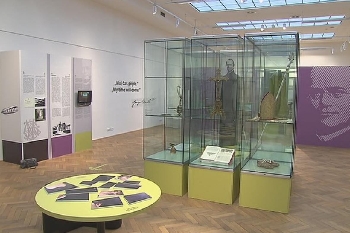 Stálá expozice věnovaná G.J.Mendelovi v brněnském Mendelově muzeu