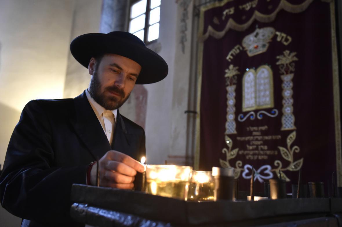 Ilustrační fotografie: Interiér Šachovy synagogy