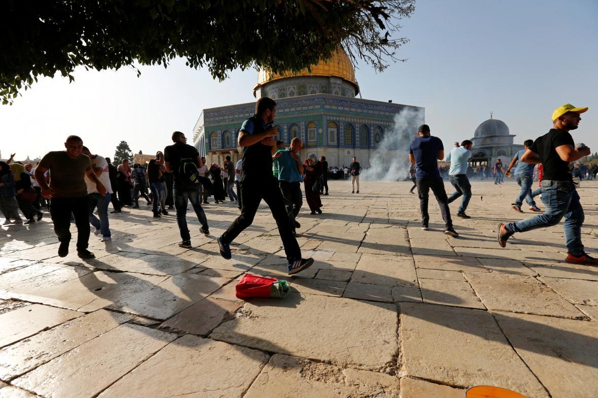 Palestinci se vrátili na Chrámovou horu