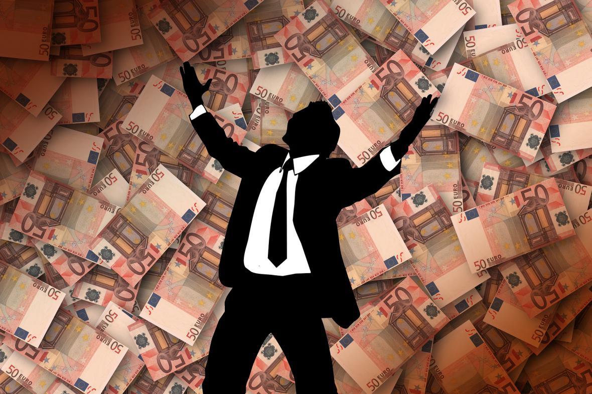štěstí a peníze