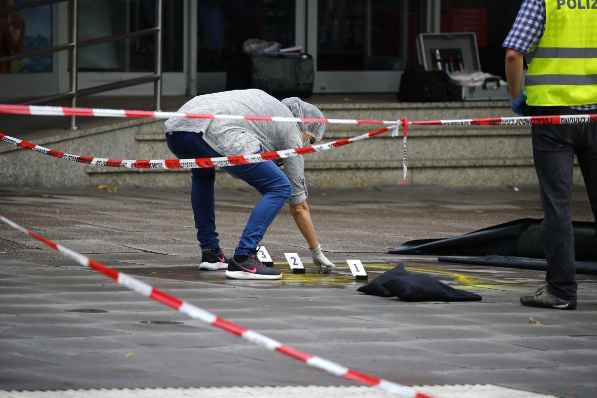 Vyšetřování útoku v Hamburku