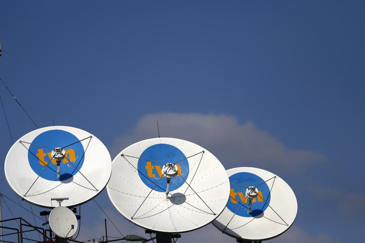 Satelity soukromé polské televize TVN
