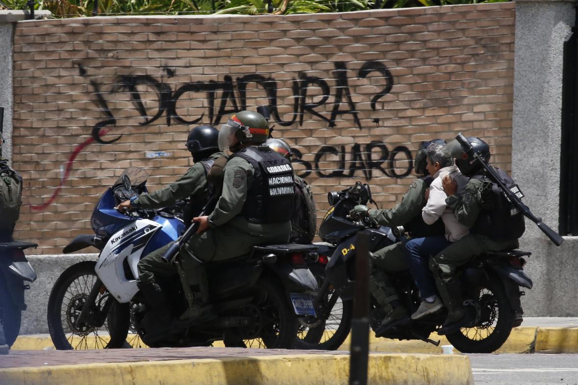 Venezuelští vojáci
