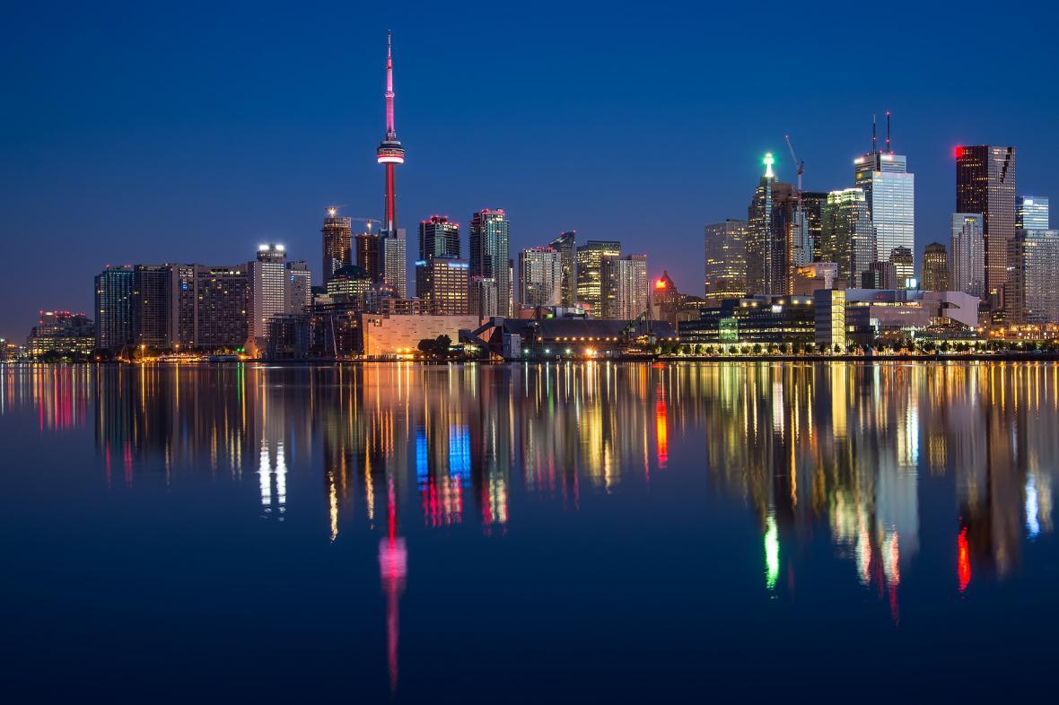 Toronto, hlavní město provincie Ontario