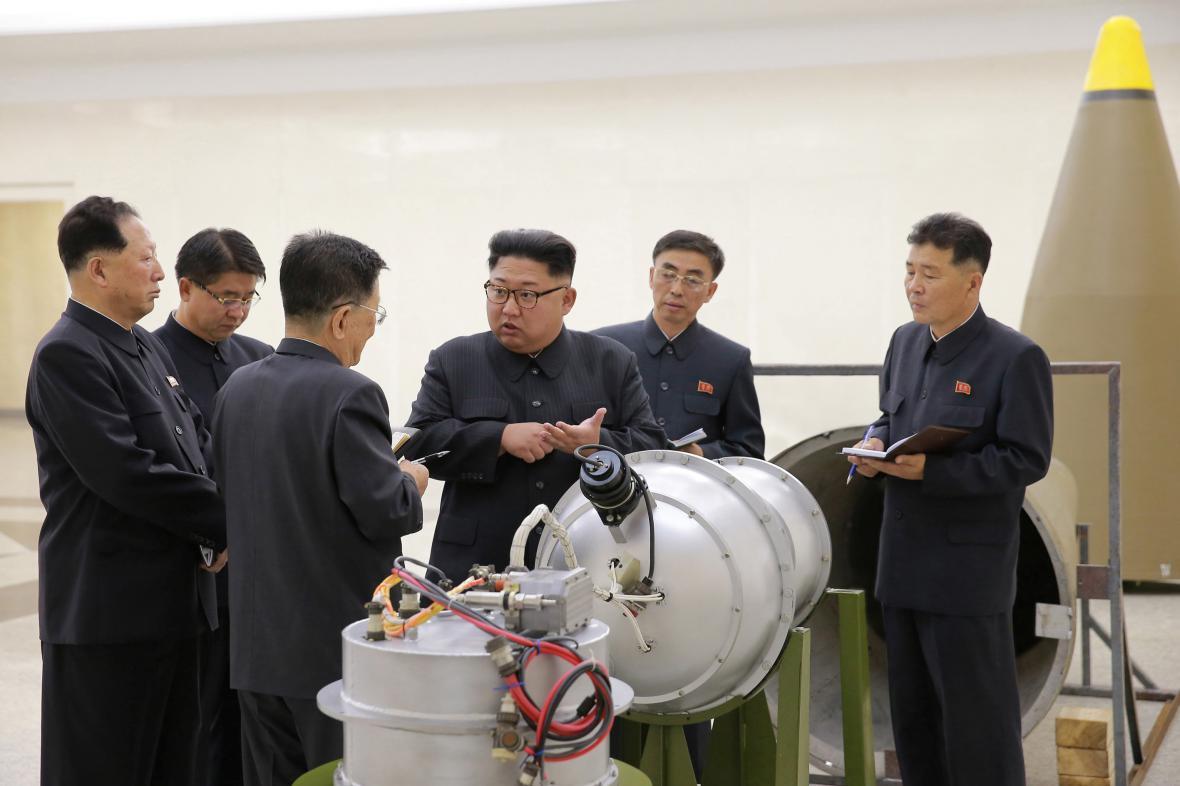 Kim Čong-un kontroluje severokorejský jaderný program