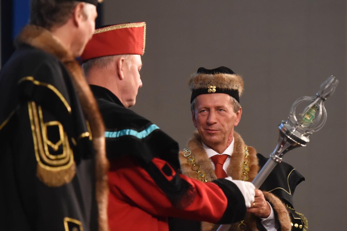 Rektor VŠB-TUO Václav Snášel