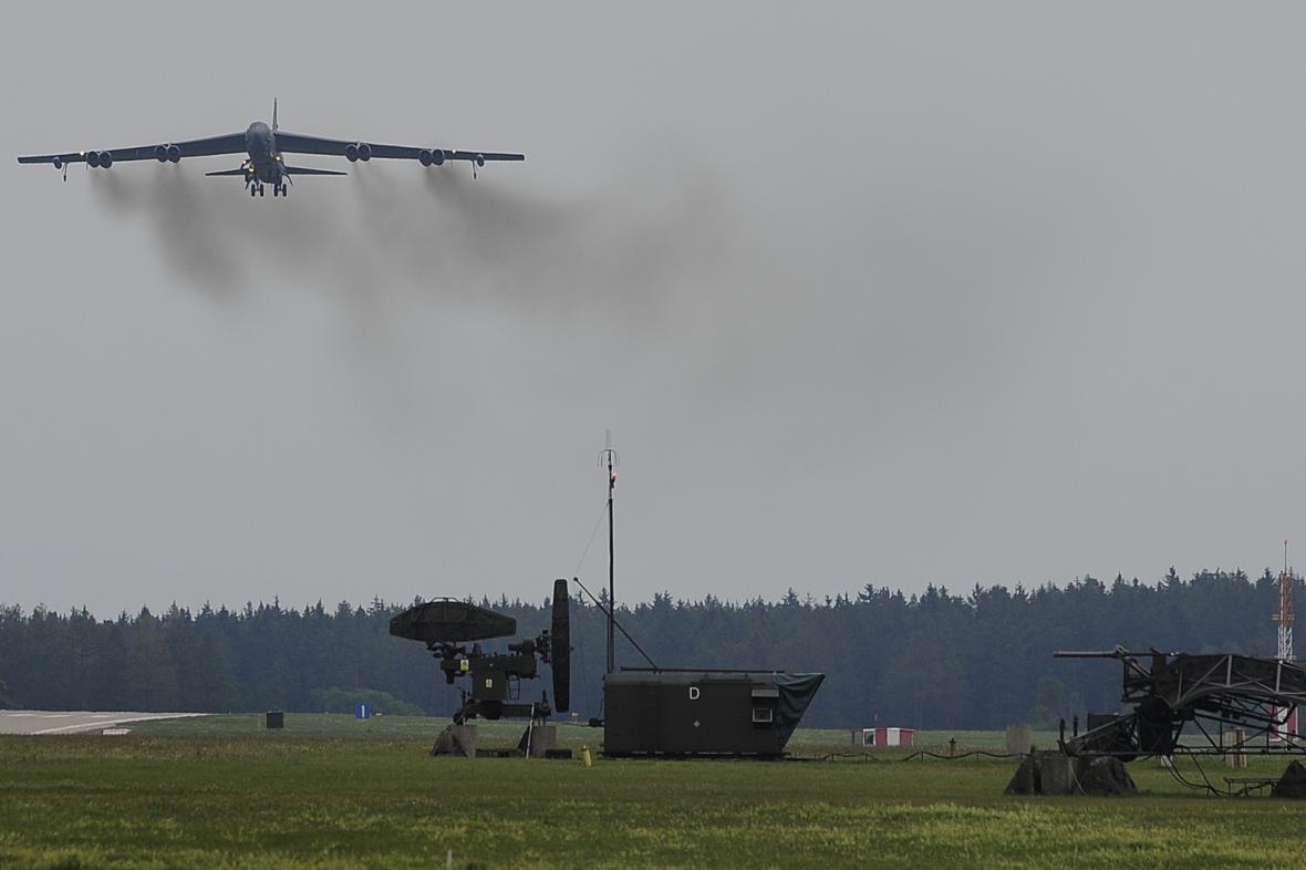 Strategický bombardér Boeing B-52 Stratofortress