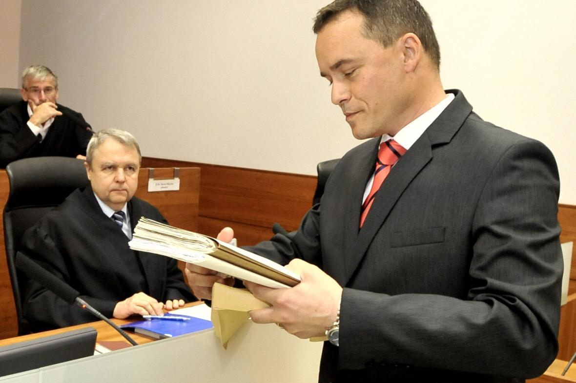 Náměstek olomouckého vrchního státního zástupce Pavel Komár