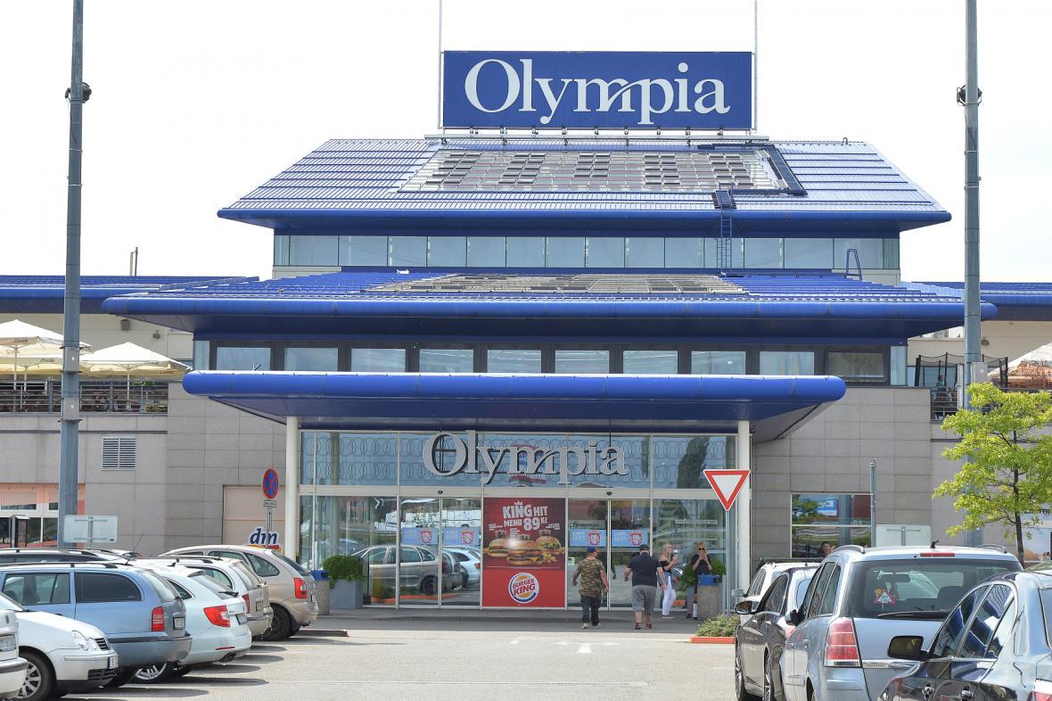 Brněnské obchodní centrum Olympia