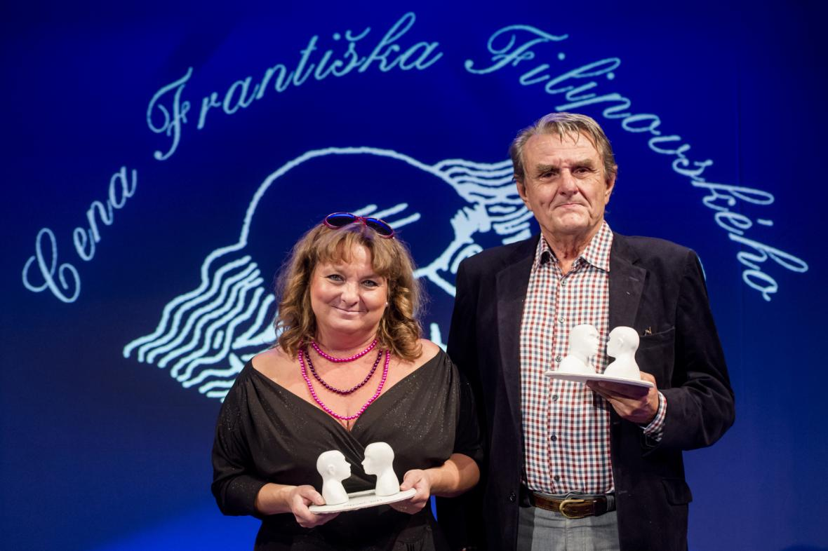 Martina Hudečková a Jiří Plachý