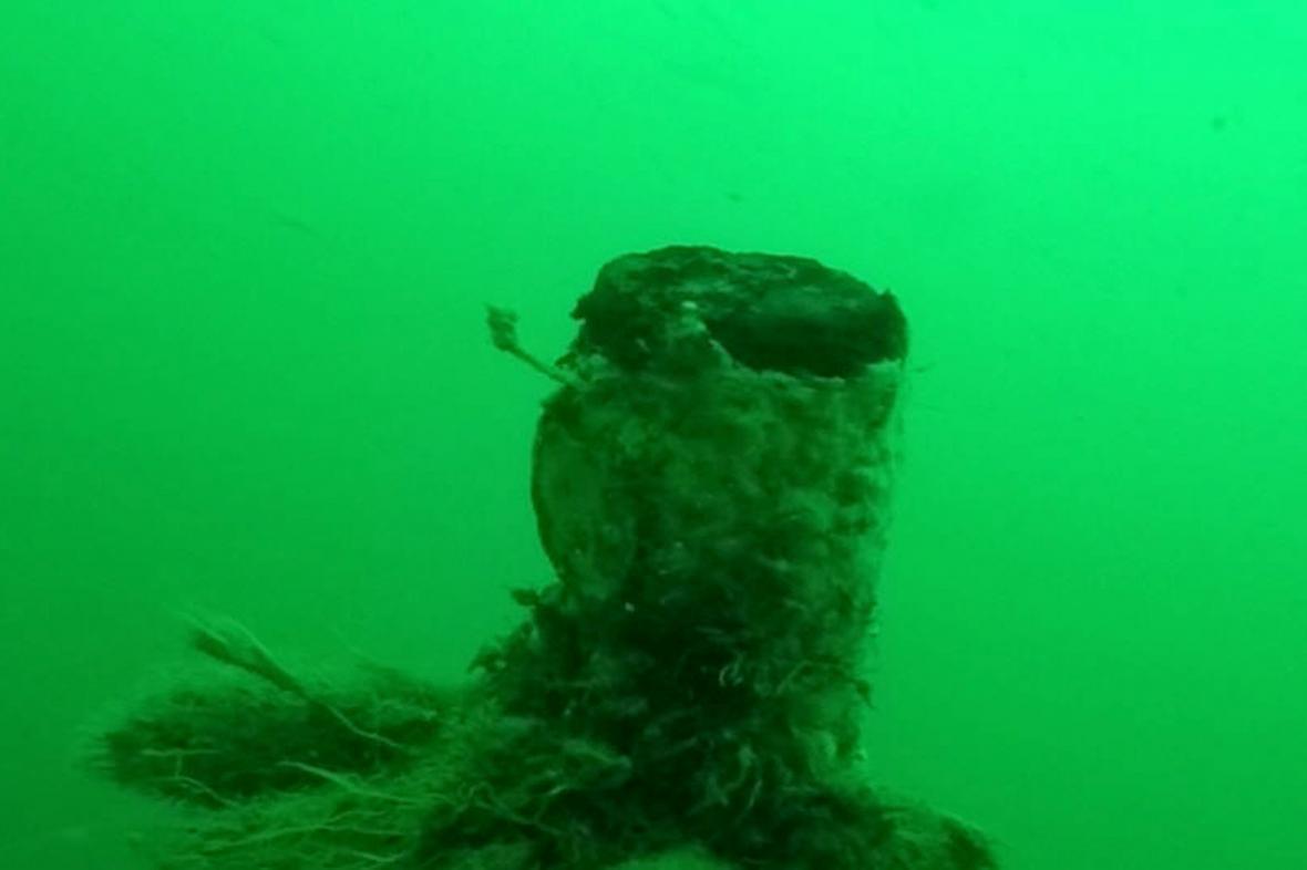 Vrak německé ponorky