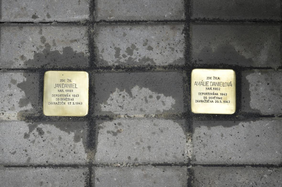 Kameny zmizelých v brněnských Černovičkách