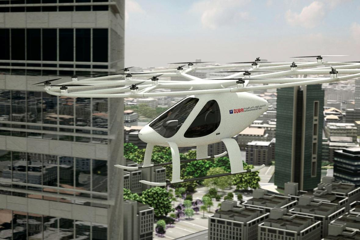 Dron Volocopter