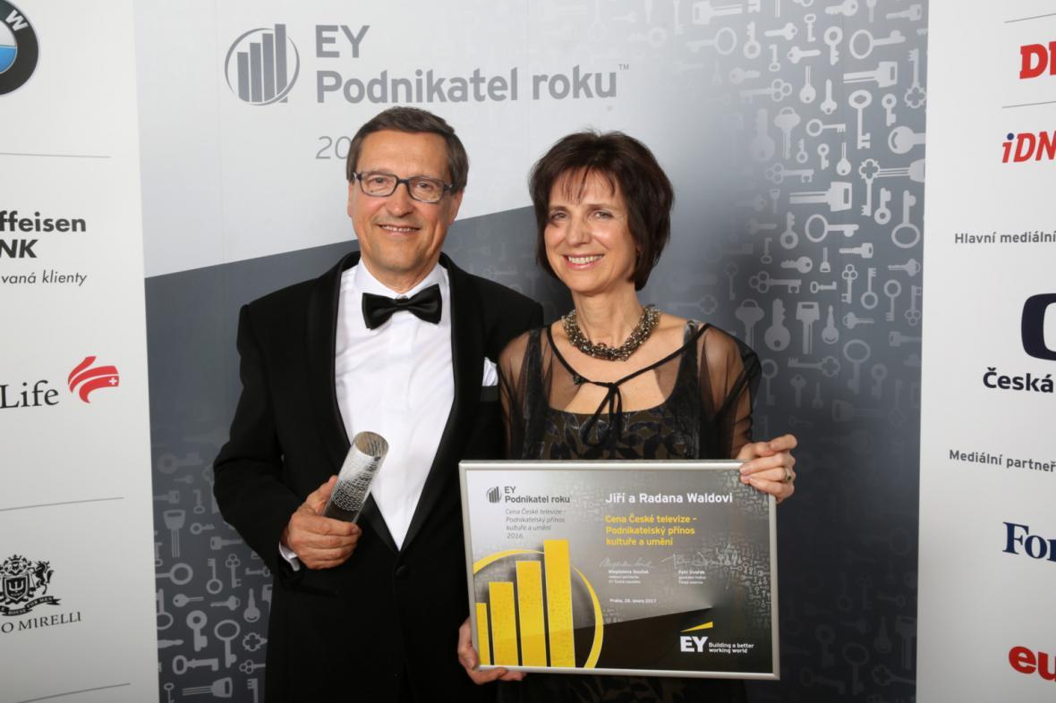 Radana a Jiří Waldovi