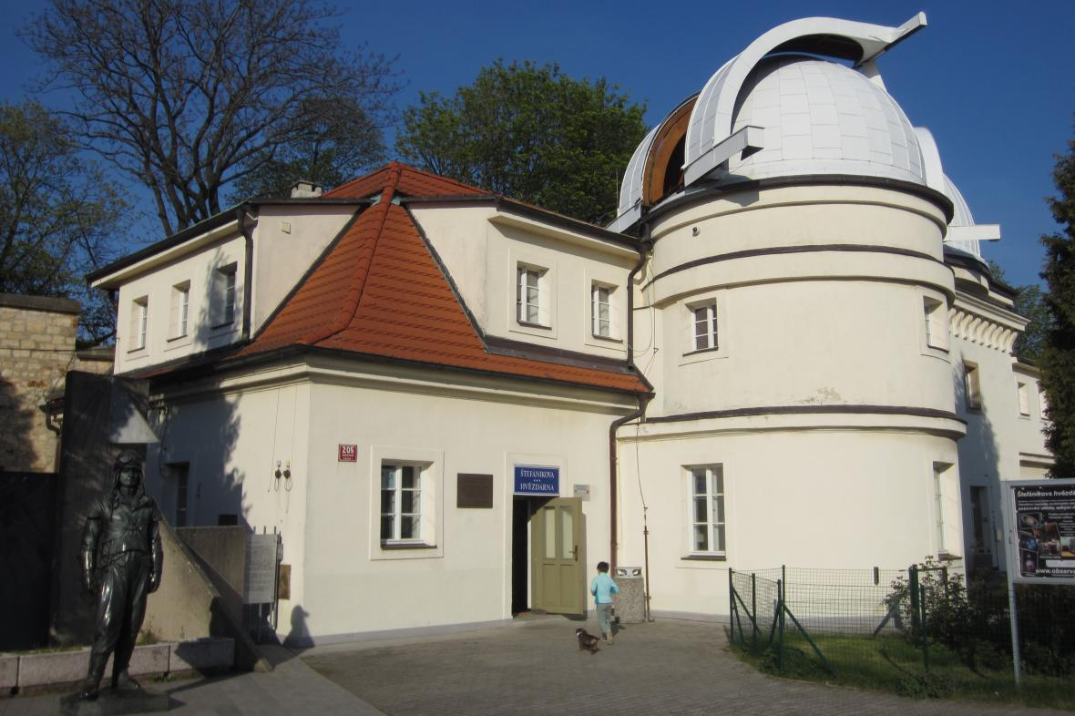 Noc vědců proběhne i na Štefánikově hvězdárně v Praze