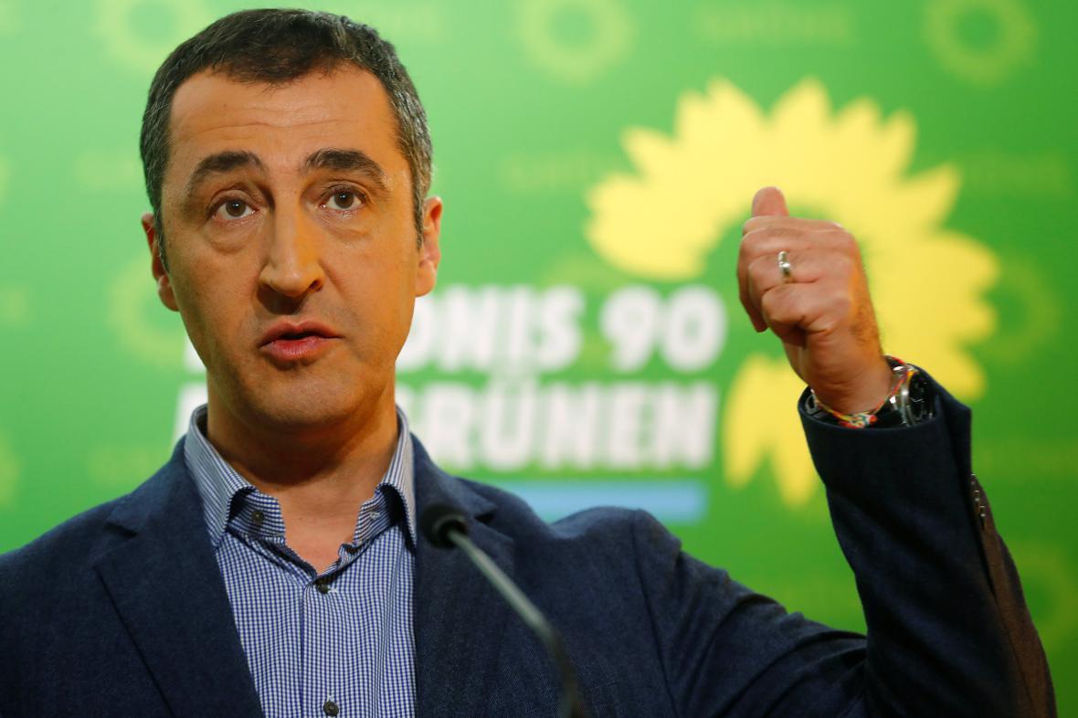 Šéf německých Zelených Cem Özdemir