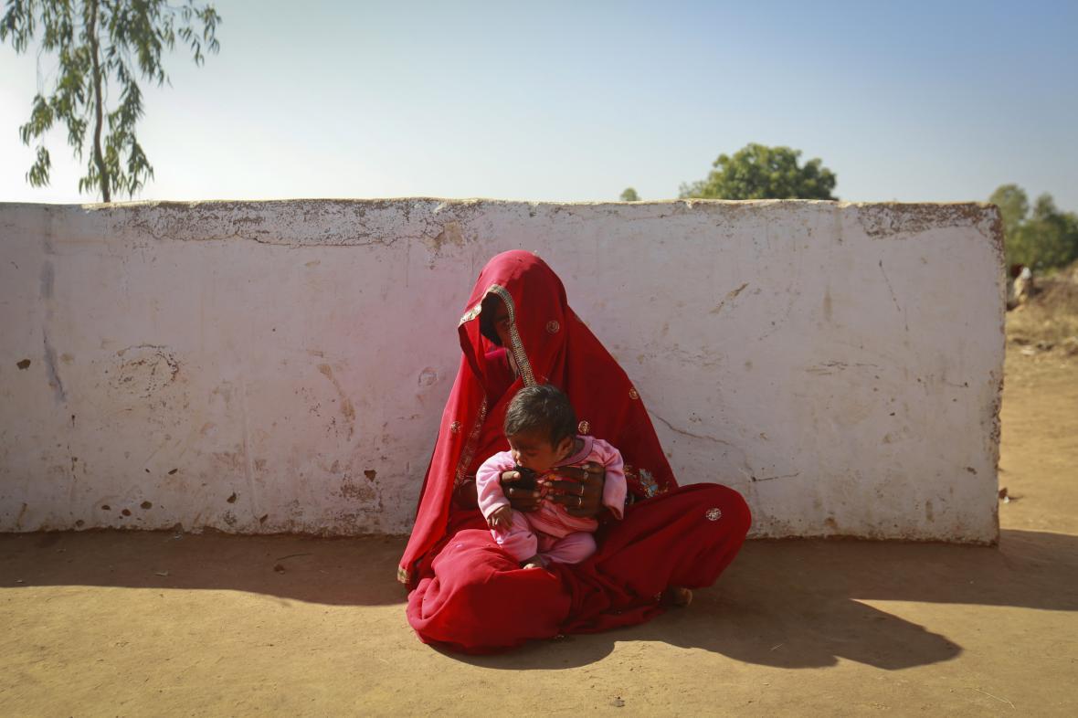 Dětská nevěsta v Indii