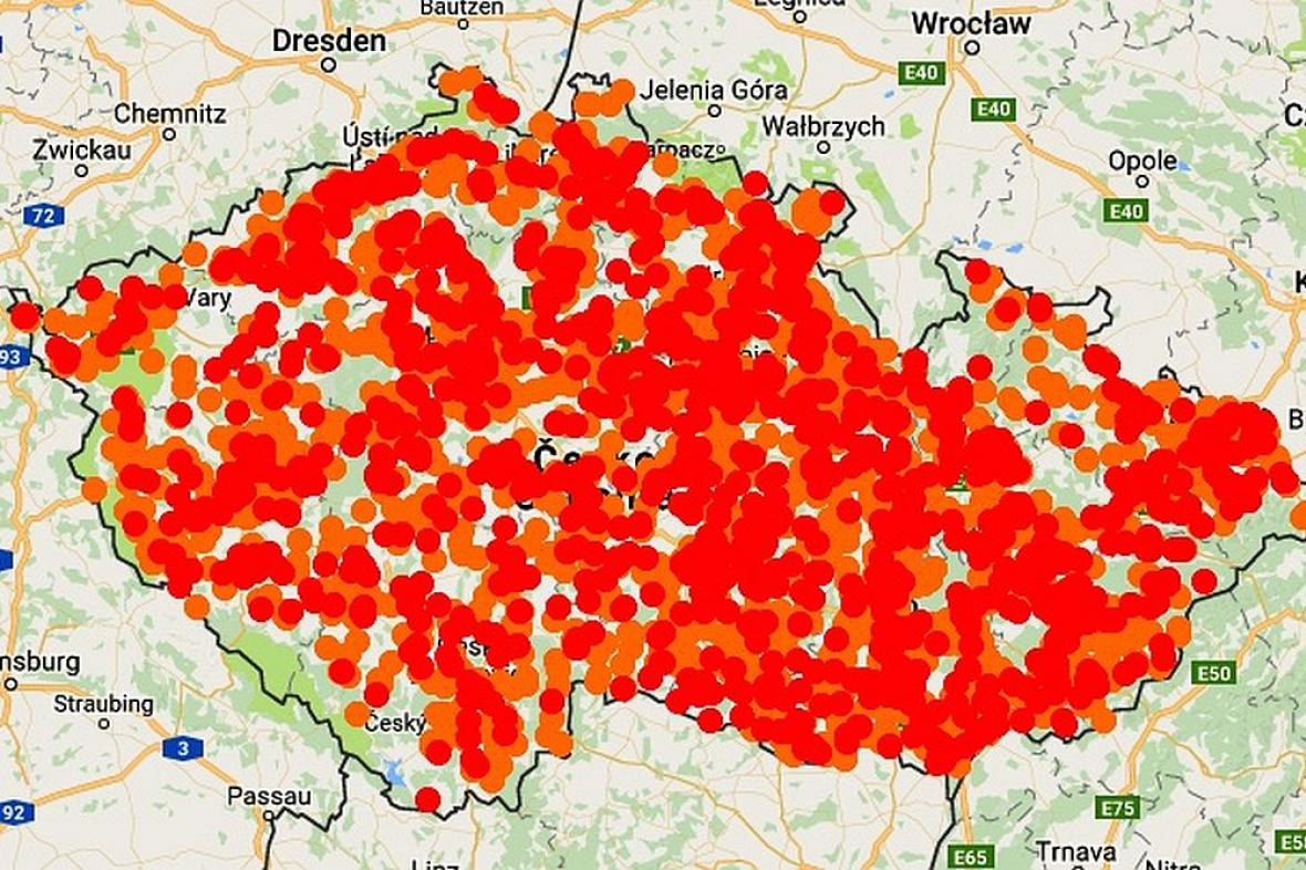 Znečištěné Česko, ilustrace