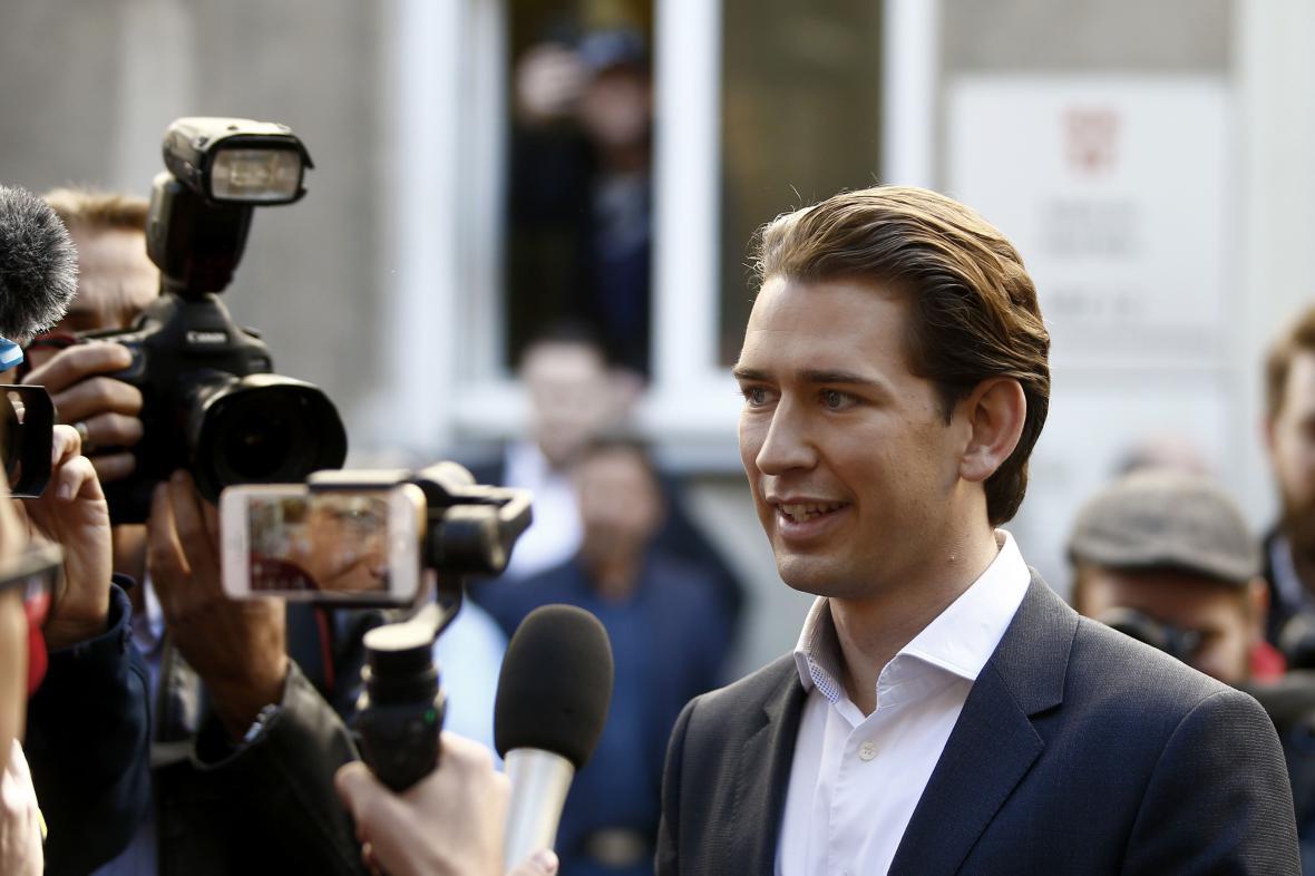 Sebastian Kurz je vítězem rakouských voleb