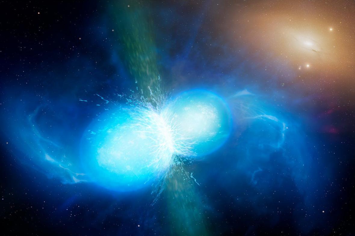 Splynutí neutronových hvězd