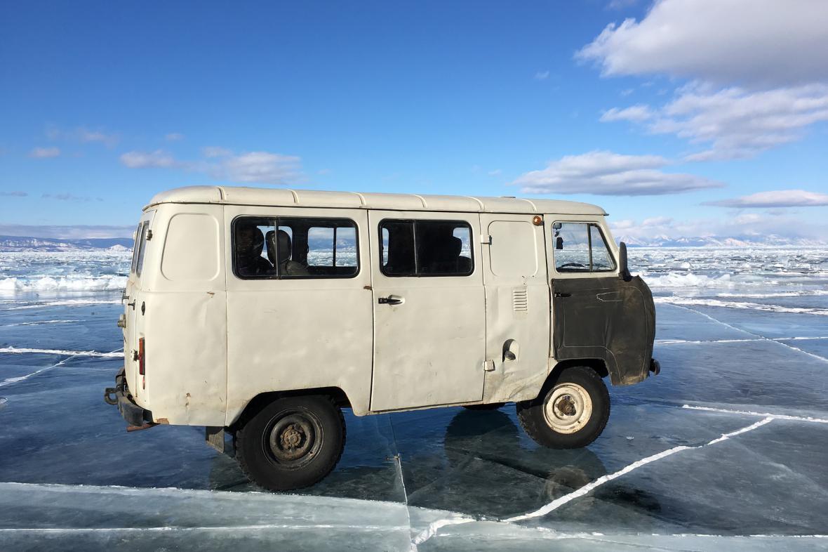 Zamrzlý Bajkal