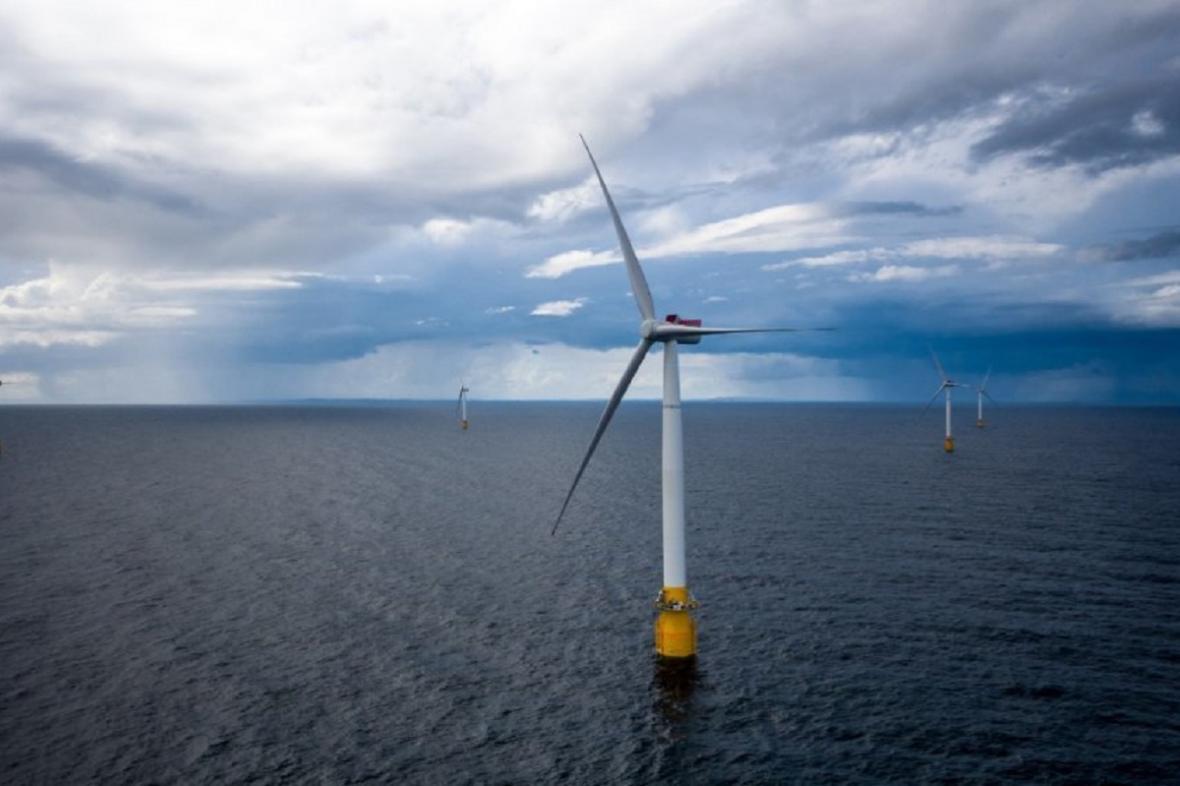 Větrné turbíny ve Skotsku
