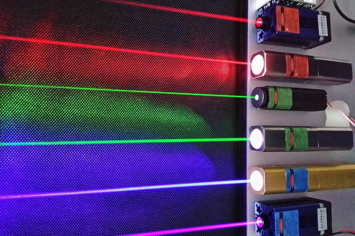 Lasery, ilustrační foto