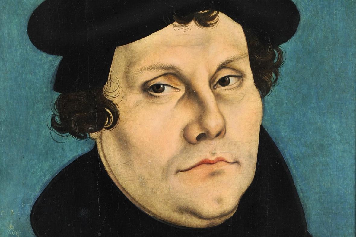 Martin Luther na obraze Lucase Cranacha