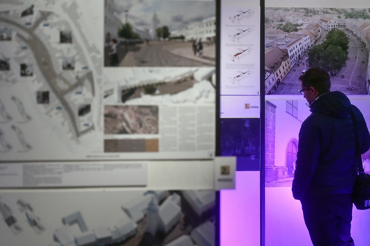 Vítězný návrh na opravu náměstí ve Velké Meziříčí