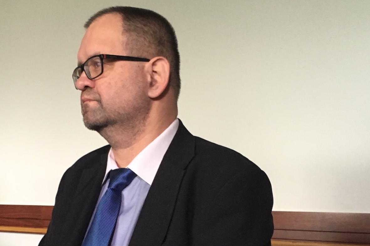 Lékař Jaroslav Hájek před okresním soudem