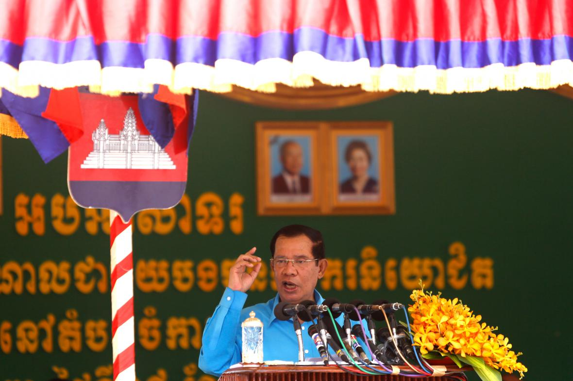 Kambodžský premiér Hun Sen