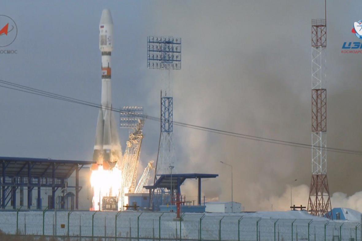 Start z kosmodromu Vostočnyj
