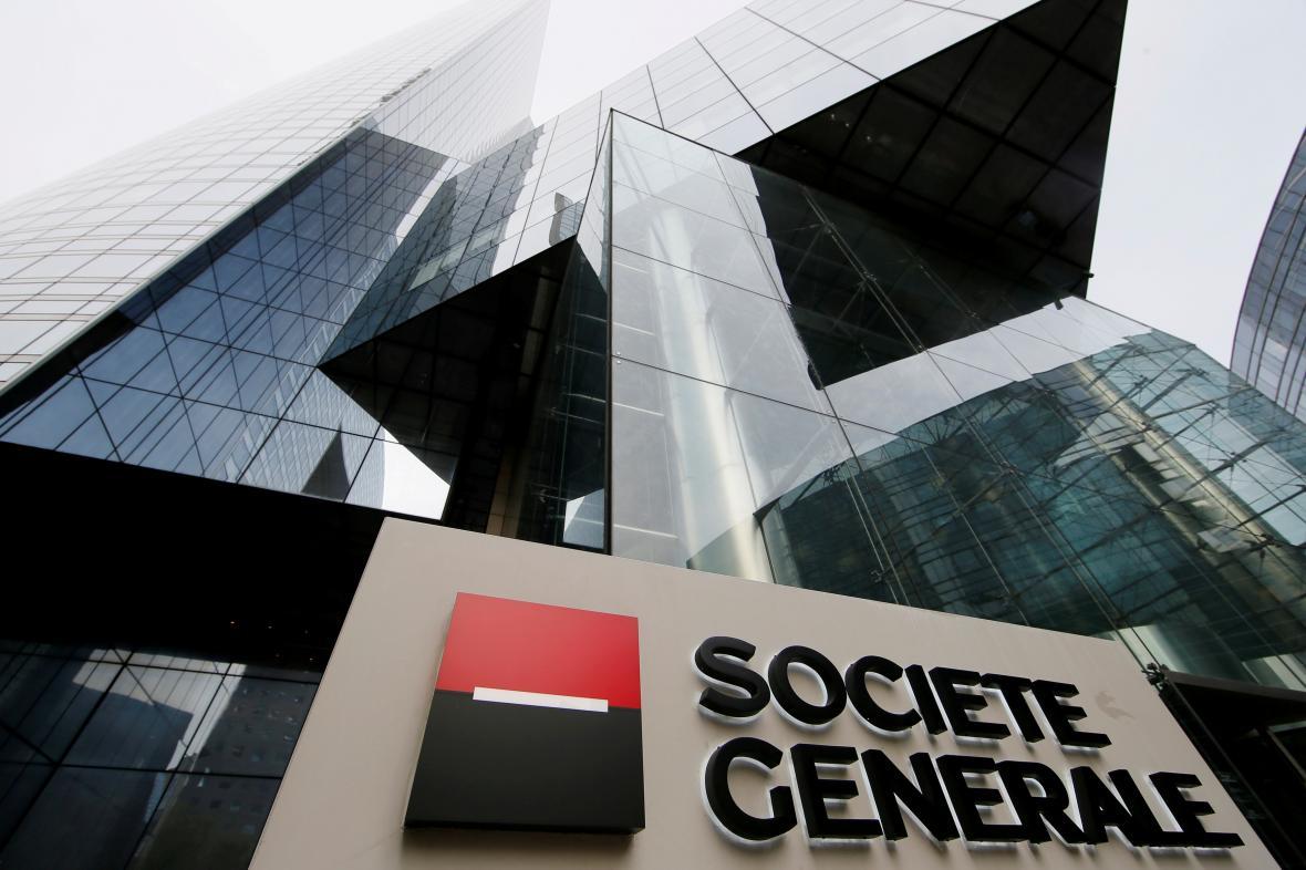 Sídlo Société Générale v Paříži.