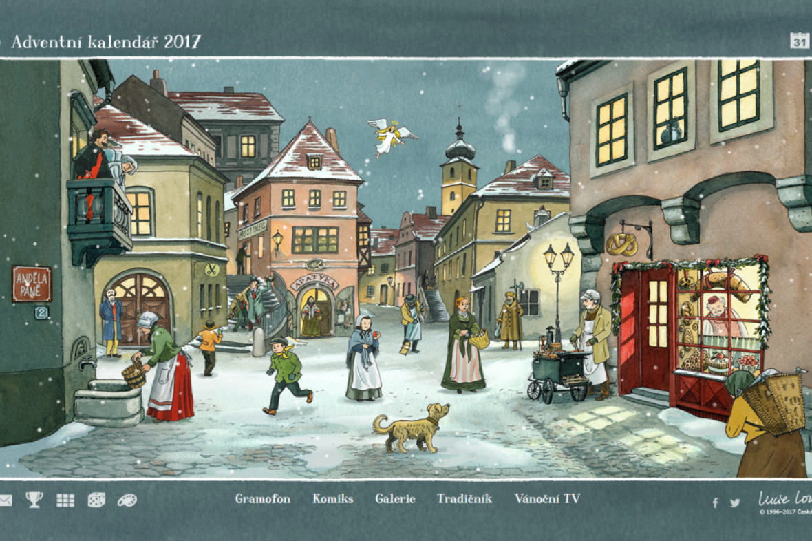 Adventní kalendář ČT