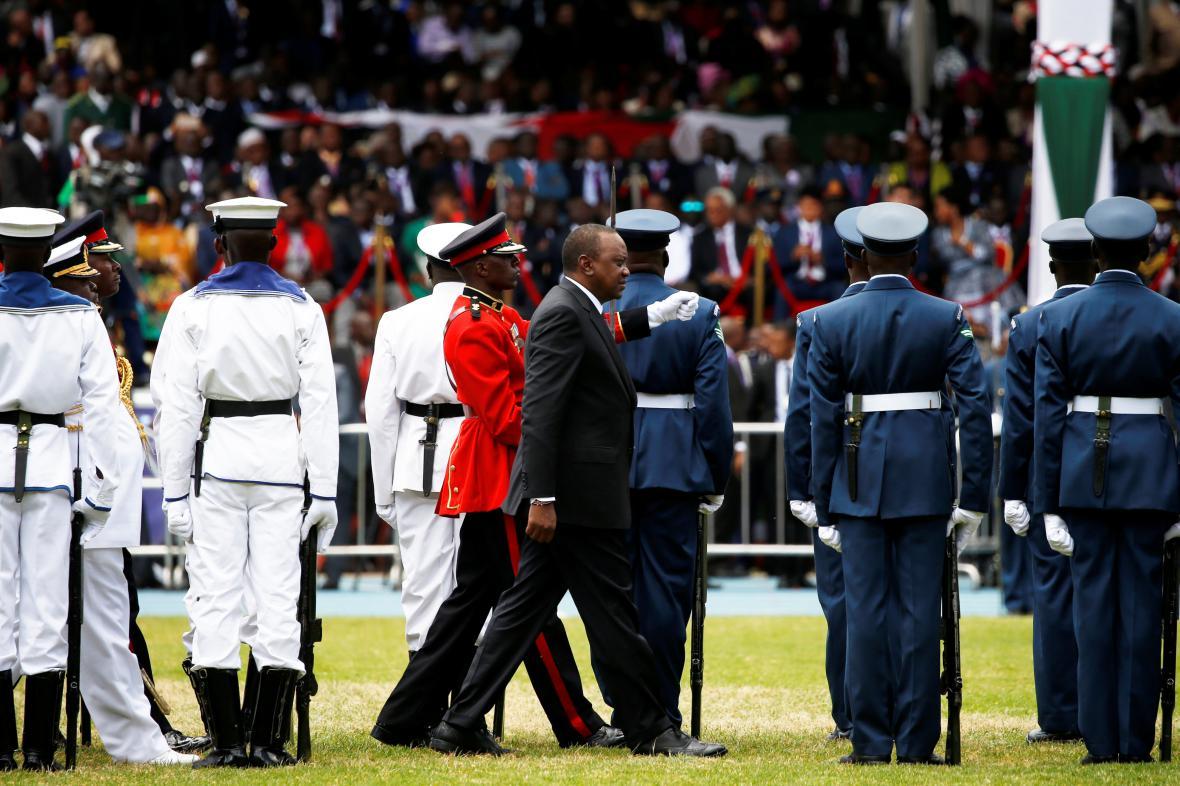 Keňský prezident složil přísahu