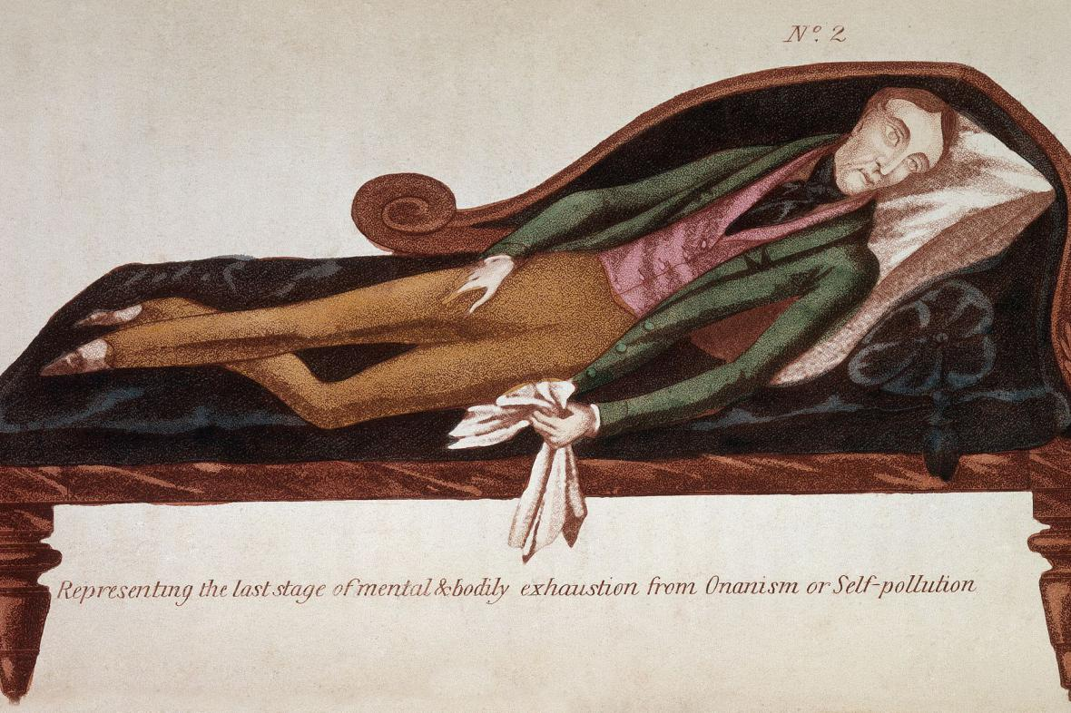 Vědecká literatura 19. století před masturbací varovala