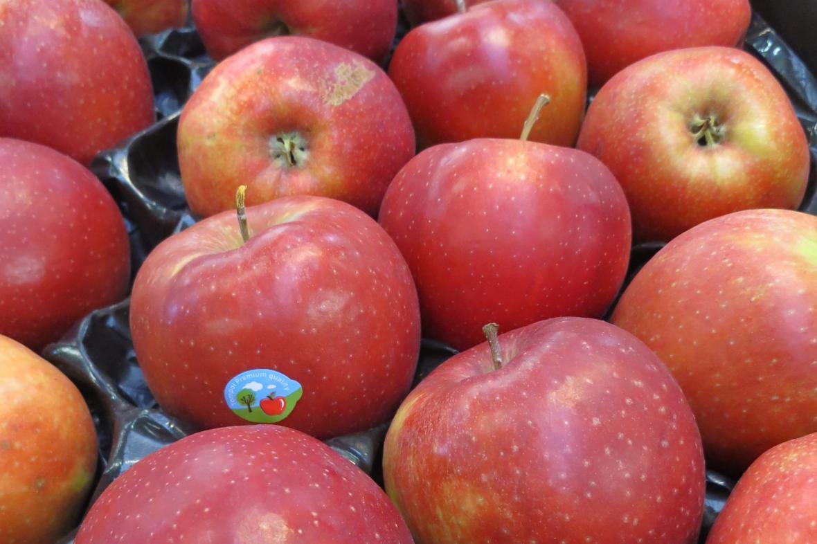 Jablka z Polska obsahovala pesticid.