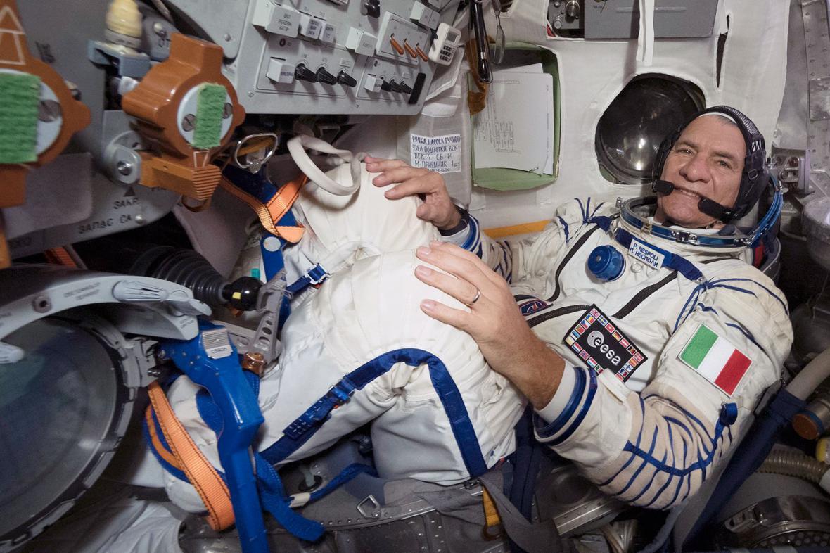 Paolo Nespoli - astronaut, s nímž se bude komunikovat