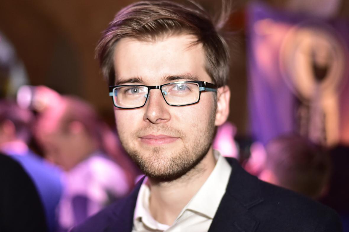 Jakub Michálek, místopředseda Pirátů