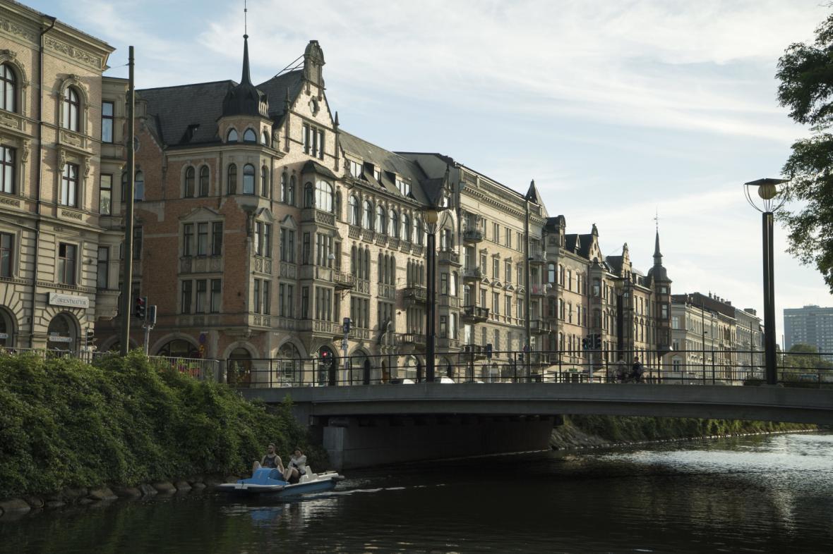 Jižní předměstí v Malmö