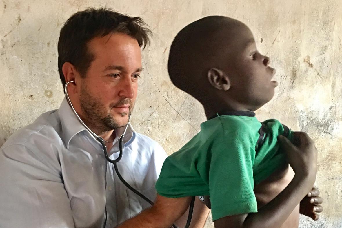 Rastislav Maďar na misi v Malawi