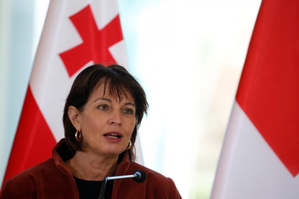 Švýcarská prezidentka Doris Leuthardová