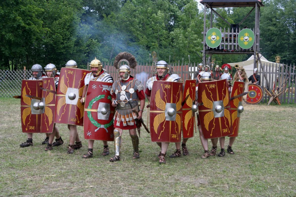 Římští legionáři, ilustrační foto