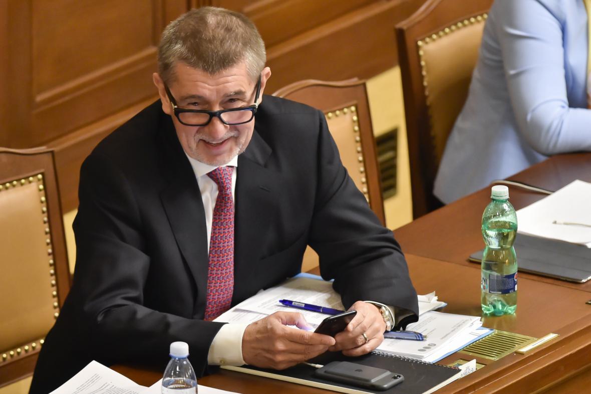 Jednání Poslanecké sněmovny o vyslovení důvěry vládě