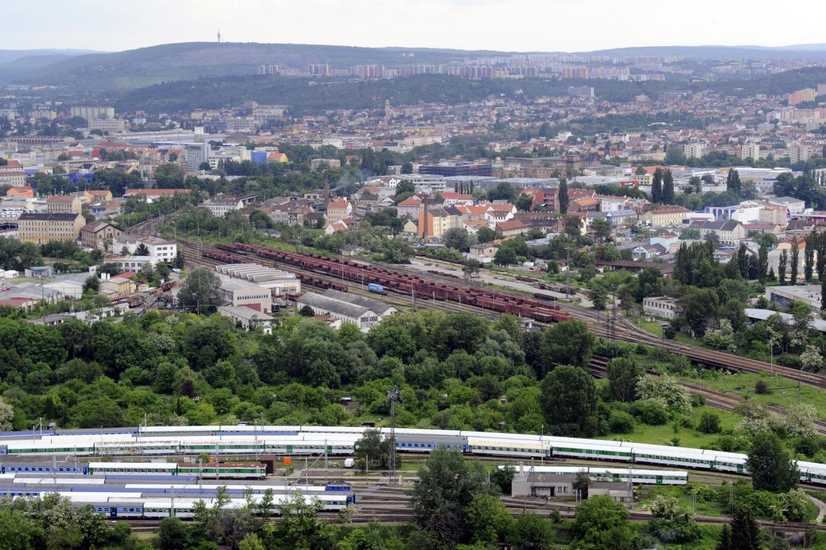 Dolní nádraží v Brně