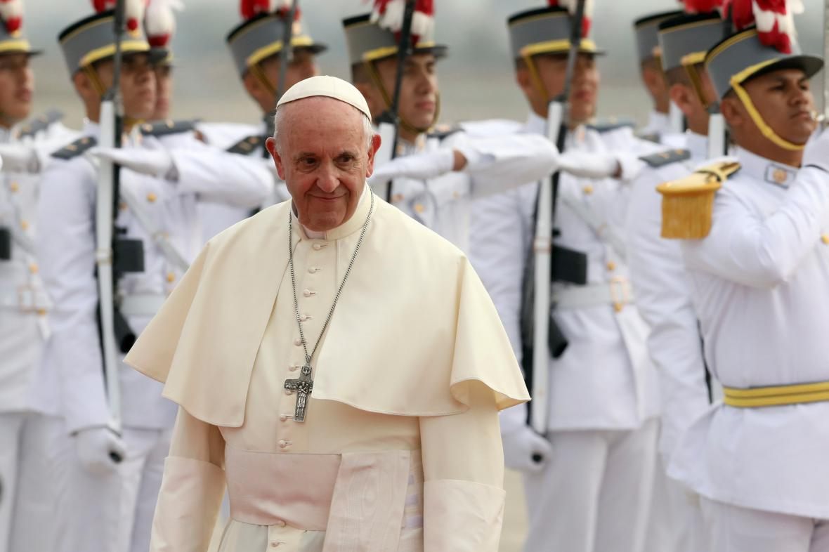 Papež František přijel do Peru