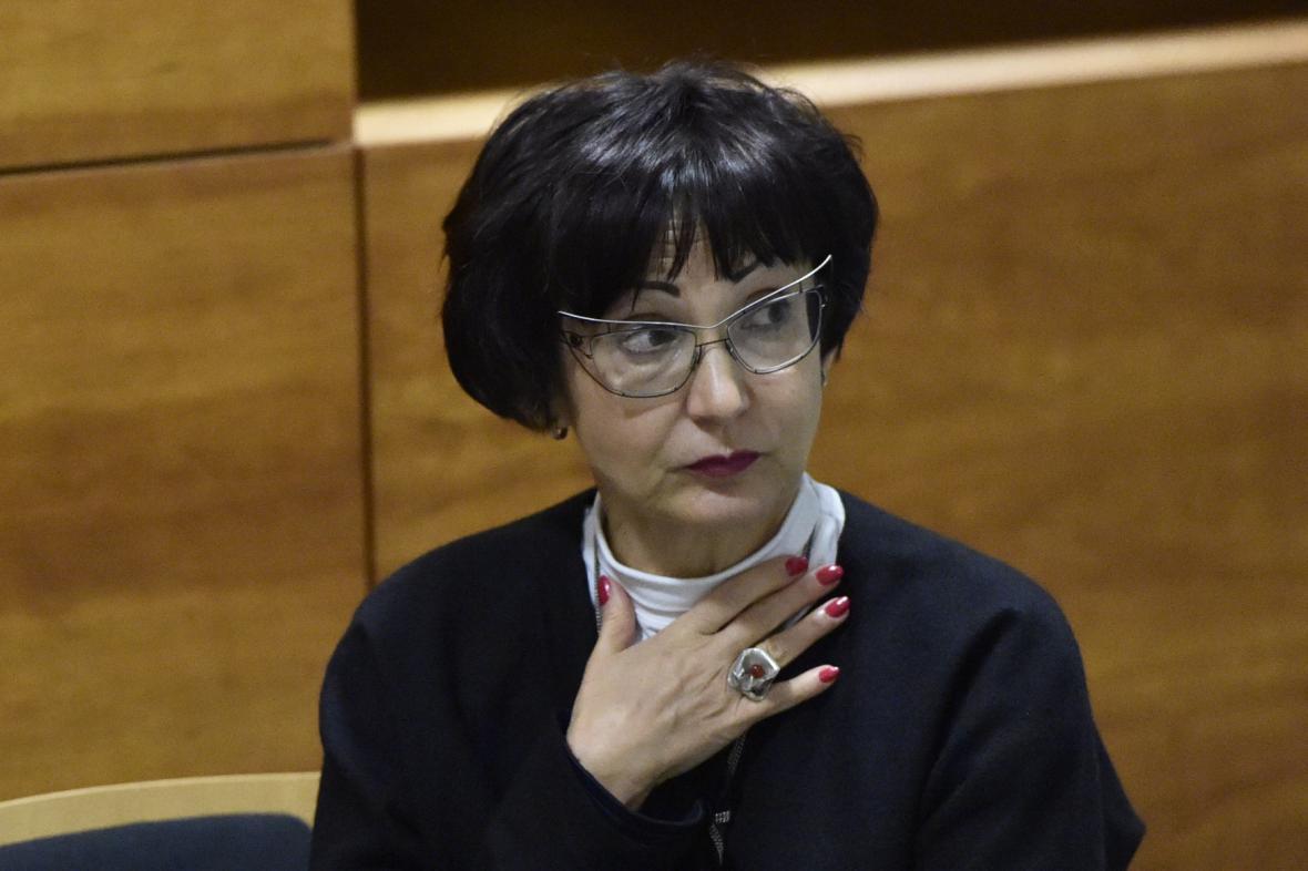 Předsedkyně Krajského soudu v Ostravě Iva Hrdinová
