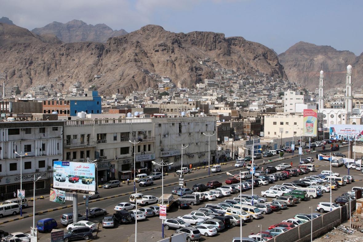 Jihojemenské město Aden