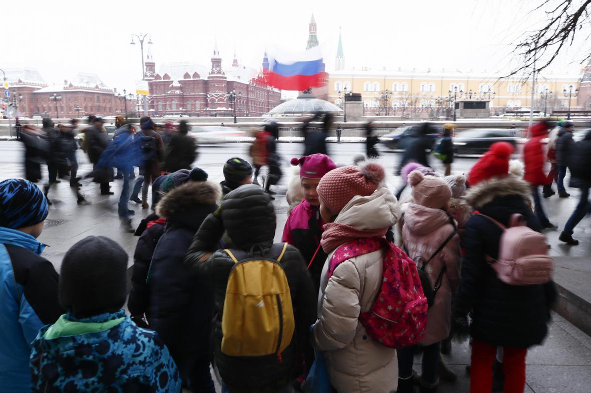 Počet dětí v Rusku klesá