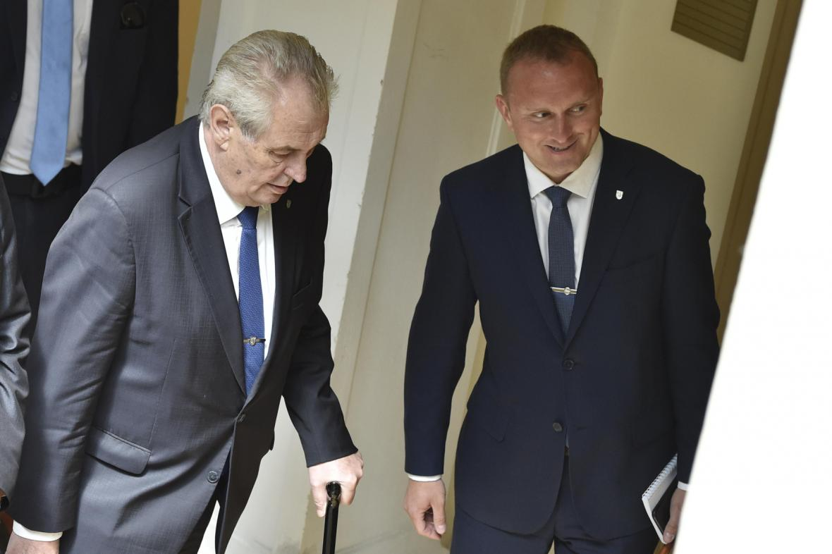 Miloš Zeman a Vladimír Kruliš
